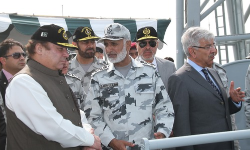 Sea Spark 2015: Nawaz reposes trust in Navy's operational capabilities