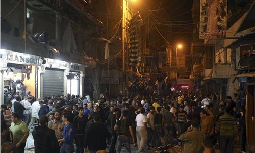 37 killed, more than 181 wounded as twin suicide blasts shake Beirut