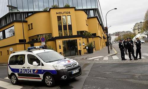 German football team evacuates hotel after bomb scare in France