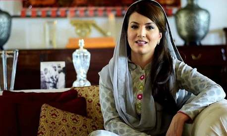 You can only talk politics with Imran: Reham Khan