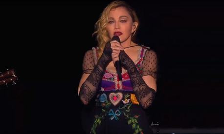 Madonna breaks down mid-concert after Paris attacks, dedicates hit single to victims