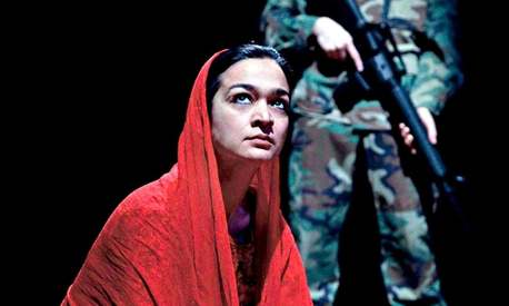 Samiya Mumtaz stars in a play about love and loss in the time of war