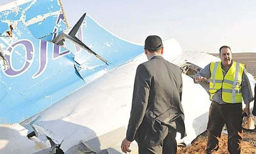 Plane over Sinai downed in 'terror act', says Russia's FSB chief