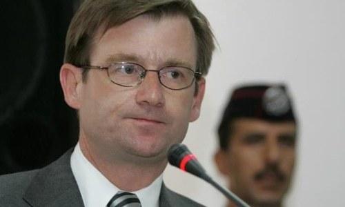 David Hale arrives to take up new job as US Ambassador to Pakistan