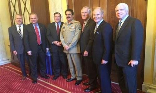 US Senators laud Pakistan's anti-terrorism efforts
