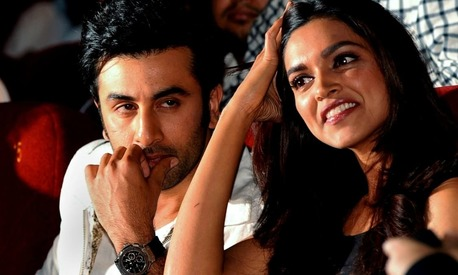 Ranbir Kapoor and Deepika Padukone  reach Pakistan... through a video link!