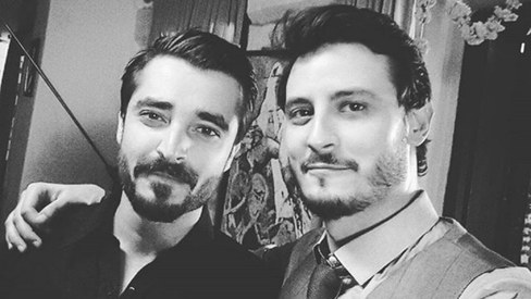 Selfie of the week: Hamza Ali Abbasi & Osman Khalid Butt go monochrome