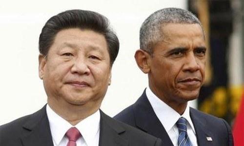 """China says US guilty of """"political provocation"""" in South China Sea"""