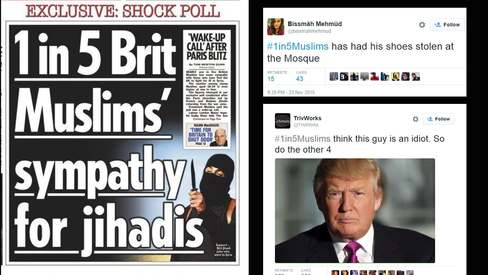Pakistanis bash Islamophobia with #1in5Muslims and the results are hilarious