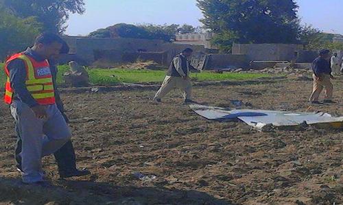 565438fcb538d - PAF plane crashes near Mianwali,pilot Maryam Mukhtiar martyred