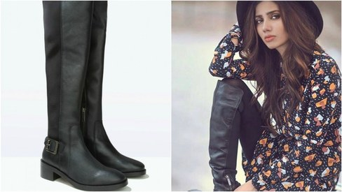 What to wear: We're head over heels for knee-high boots