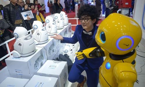 China dreams of electric sheep at robot conference