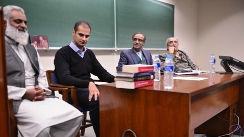 Lums is in the spotlight for hosting all-male conference
