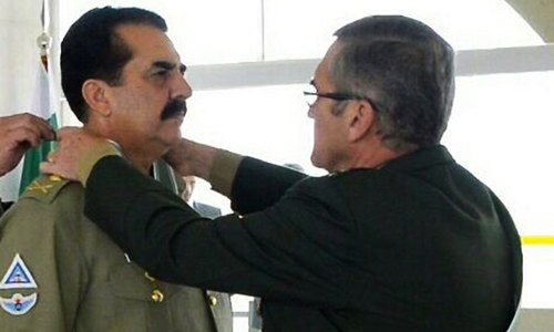 General Raheel Sharif decorated with Brazil's 'Order of Merit'