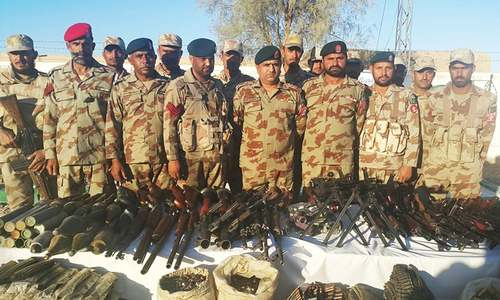 Weapon cache found, terror bid foiled in Balochistan