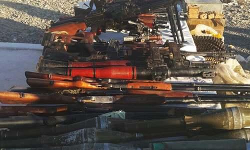 Weapon cache found, terror bid foiled in Balochistan