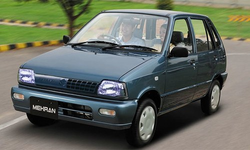 Pak Suzuki To Replace Mehran With 660cc Alto Pakistan Dawn Com