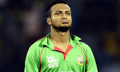 Bangladesh's Shakib banned for abusing umpire