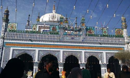 Shah Abdul Latif Bhitai's 272nd urs kicks off in Bhit Shah