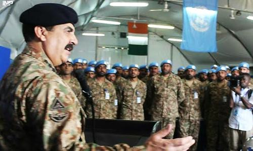COAS visits Pakistan Army's UN contingent in Ivory Coast