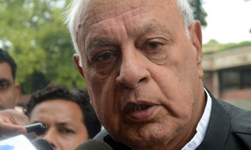Farooq Abdullah calls for dialogue on Kashmir