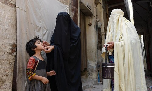 People face jail for refusing polio vaccination in Peshawar