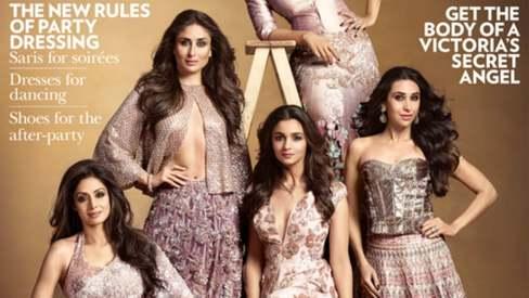 Kajol, Alia, Kareena, Karisma and Sridevi come together for epic cover shot