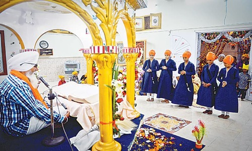 Footprints: Celebrating Sikh ideal of peace
