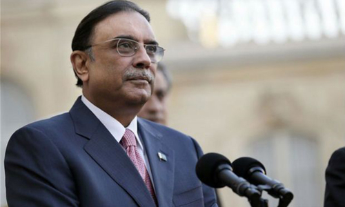 Zardari weighs option to take charge of PPP-P