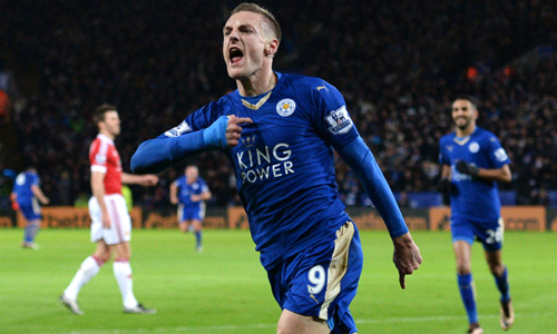 Leicester's Vardy goes past Van Nistelrooy to make Premier League history