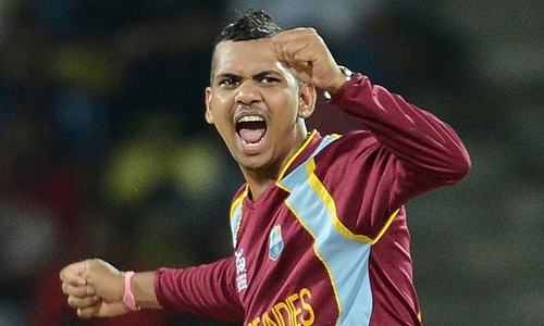 West Indian Narine suspended for illegal action