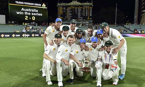 Australia triumph in historic day-night Test after nail-biting finish
