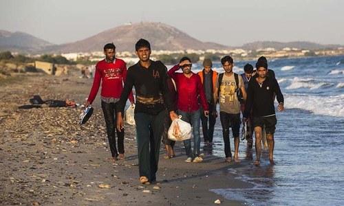 Trav(ail)ogue of illegal Pakistani immigrants