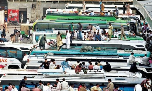 Plan to build intercity bus terminals on Lahore outskirts