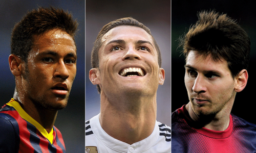 Messi, Ronaldo, Neymar named as Ballon d'Or top three