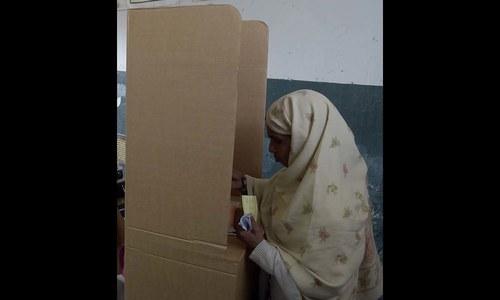 اسلام آباد کے بلدیاتی الیکشن کا تصویری احوال