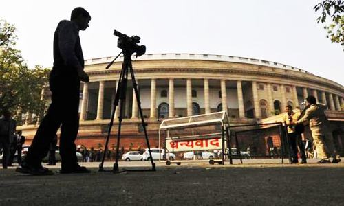 Indian parliament debates intolerance amid disruption