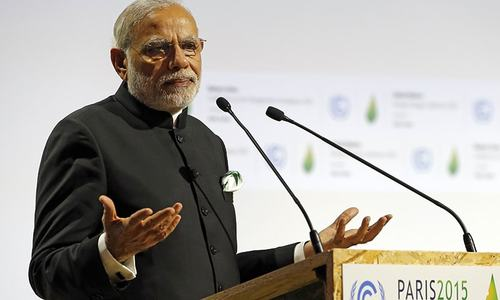 Poor states have right to burn carbon, says Modi