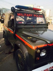 Two military personnel critically injured in Karachi shooting