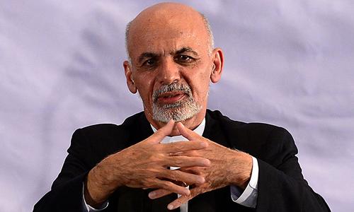 Ghani too eying talks with Taliban