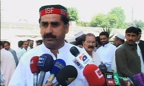 SC rejects bail plea of former KP minister