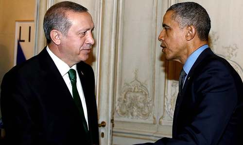 Obama urges Turkey to reduce tensions with Russia
