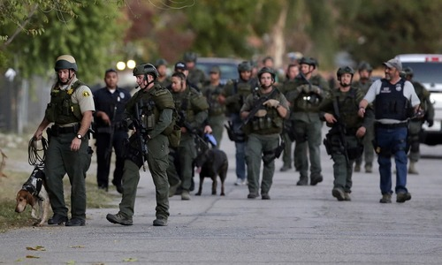 California gun attack differs from lone-wolf shootings