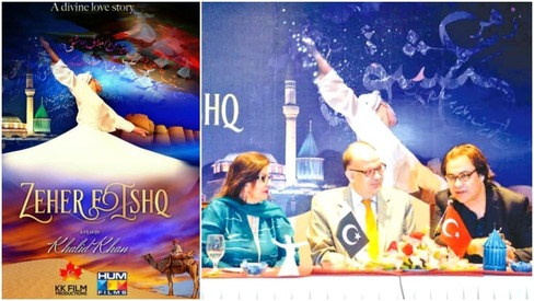 New film Zeher-e-Ishq hopes to spread Rumi's teachings about love
