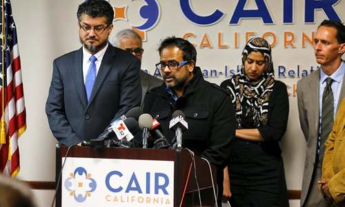 California Muslims condemn 'horrific' mass shooting