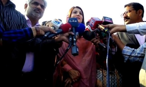 Reham Khan returns to Pakistan 'to fulfill responsibility to media'