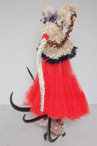 She was now in western style dress, 2011, Rina Banerjee