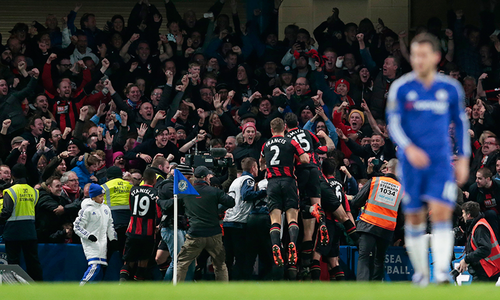 Chelsea hit new low as newcomers Bournemouth triumph at Stamford Bridge