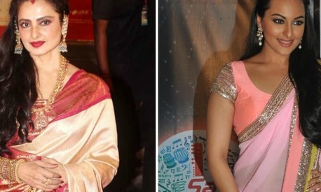 Did you know? Rekha is Sonakshi Sinha's style icon