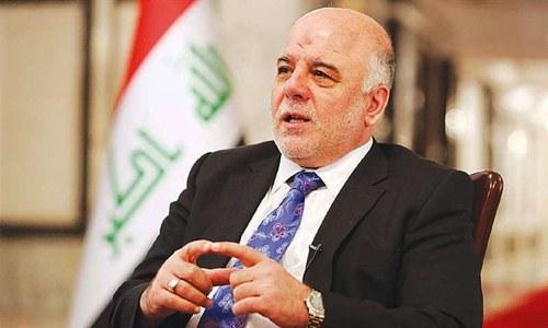 Iraqi premier says IS smuggles majority of oil via Turkey
